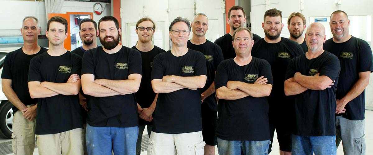 Tracy's Collision Center South Techs